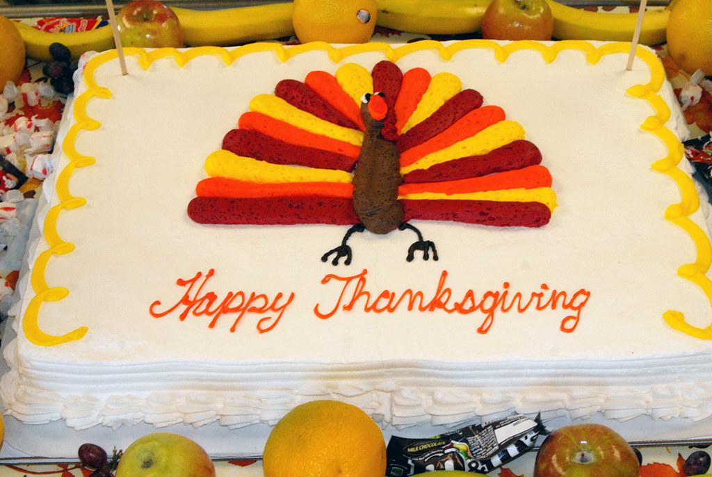Happy Thanksgiving Cake