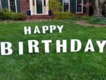 Happy Birthday Grass
